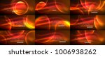 collection of neon glowing... | Shutterstock .eps vector #1006938262