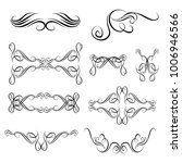 decorative monograms and... | Shutterstock .eps vector #1006946566
