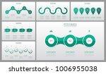 presentation slide templates... | Shutterstock .eps vector #1006955038
