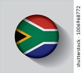button flag of south africa in... | Shutterstock .eps vector #1006968772