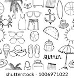 vector background seamless... | Shutterstock .eps vector #1006971022