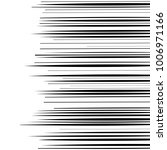 comic horizontal speed lines... | Shutterstock .eps vector #1006971166