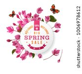 spring round emblem with text... | Shutterstock .eps vector #1006978612