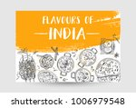 indian food flyer design.... | Shutterstock .eps vector #1006979548