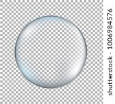 glass transparent ball isolated  | Shutterstock . vector #1006984576