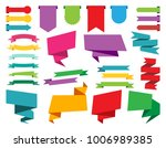 design elements  web stickers ... | Shutterstock .eps vector #1006989385