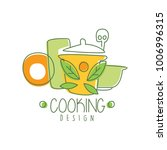 culinary hand drawn cooking... | Shutterstock .eps vector #1006996315