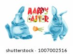 Stickers With Easter Bunnies....