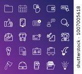 business outline vector icon...   Shutterstock .eps vector #1007005618
