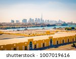 dubai cruise port terminal | Shutterstock . vector #1007019616