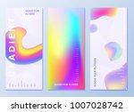 design templates for flyers ... | Shutterstock .eps vector #1007028742