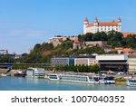 city of bratislava cityscape...   Shutterstock . vector #1007040352