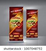 roll up banner business design... | Shutterstock .eps vector #1007048752