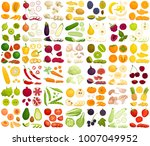 vector set of products. a... | Shutterstock .eps vector #1007049952