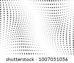 abstract halftone wave dotted... | Shutterstock .eps vector #1007051056