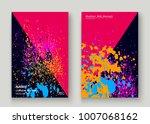 Neon Explosion Paint Splatter...