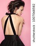 fashion beautiful woman in... | Shutterstock . vector #1007068582