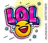 Lol In Comic Speech Bubble With ...