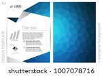light blue vector  layout for... | Shutterstock .eps vector #1007078716