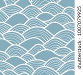 decorative seamless pattern.... | Shutterstock .eps vector #1007079925