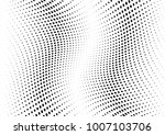 abstract halftone wave dotted... | Shutterstock .eps vector #1007103706