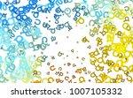 light blue  yellow vector cover ...   Shutterstock .eps vector #1007105332