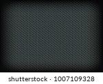 hexagon metalic texture | Shutterstock .eps vector #1007109328