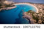 panoramic aerial view of... | Shutterstock . vector #1007122702