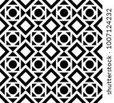 geometric seamless pattern.... | Shutterstock .eps vector #1007124232
