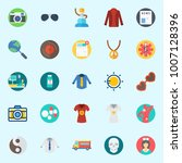 icons set about hippies. with... | Shutterstock .eps vector #1007128396