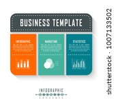 vector infographics template... | Shutterstock .eps vector #1007133502