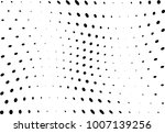 abstract halftone wave dotted... | Shutterstock .eps vector #1007139256