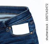 white feminine hygiene pad in a ...   Shutterstock . vector #1007142472