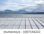 metal roof on the beaches of... | Shutterstock . vector #1007146222