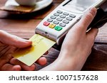 credit card payment for...   Shutterstock . vector #1007157628