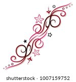 filigree tribal ornament with... | Shutterstock .eps vector #1007159752