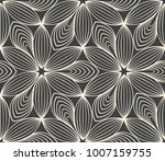minimalistic repeating linear... | Shutterstock .eps vector #1007159755