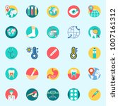 icons set about medical. with... | Shutterstock .eps vector #1007161312