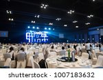 blurred background of event... | Shutterstock . vector #1007183632