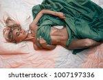 beauty. beautiful sexy young... | Shutterstock . vector #1007197336