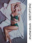 beauty. beautiful sexy young... | Shutterstock . vector #1007197342