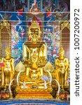 beautiful buddha statue at ming ... | Shutterstock . vector #1007200972