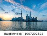 beautiful shanghai pudong...   Shutterstock . vector #1007202526