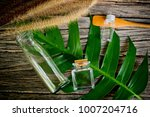 natural cosmetics bottle... | Shutterstock . vector #1007204716