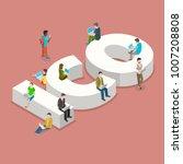initial coin offering flat... | Shutterstock . vector #1007208808