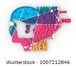 abstract illustration of a...   Shutterstock . vector #1007212846