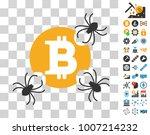 bitcoin spider parasites...