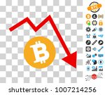 bitcoin recession trend... | Shutterstock .eps vector #1007214256