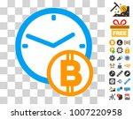 bitcoin credit icon with bonus...