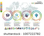 infographic template. set... | Shutterstock .eps vector #1007222782